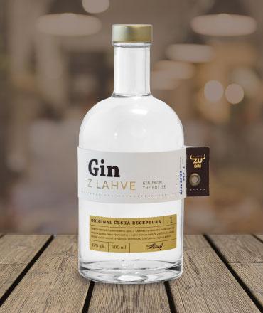Lahev Ginu, jménem Gin z láhve